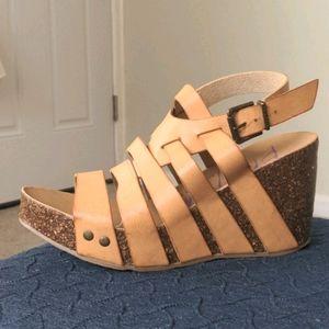Blowfish Malibu Strapped Wedge Sandals